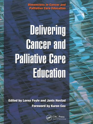 cover image of Delivering Cancer and Palliative Care Education