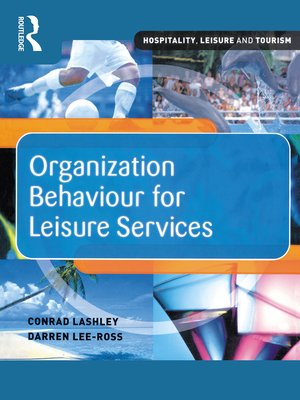 cover image of Organization Behaviour for Leisure Services