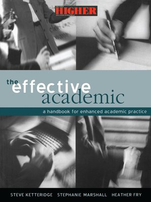 cover image of The Effective Academic
