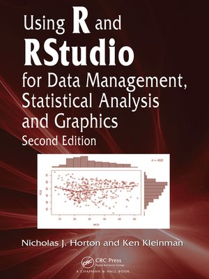cover image of Using R and RStudio for Data Management, Statistical Analysis, and Graphics