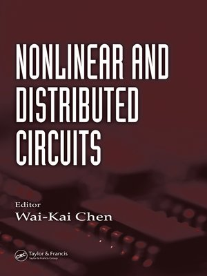 cover image of Nonlinear and Distributed Circuits
