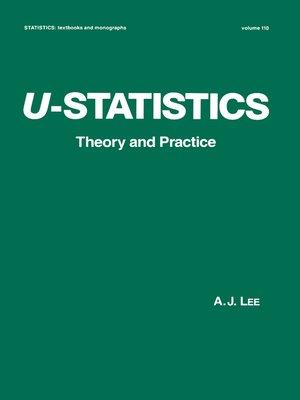 cover image of U-Statistics