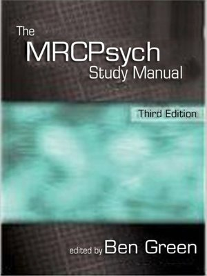 cover image of The MRCPsych Study Manual