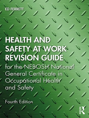 cover image of Health and Safety at Work Revision Guide