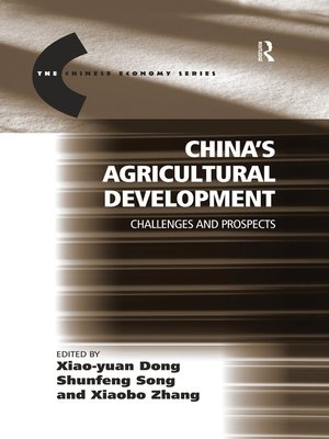 cover image of China's Agricultural Development