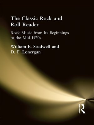 cover image of The Classic Rock and Roll Reader