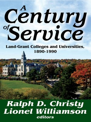 cover image of A Century of Service