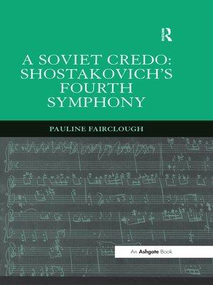 cover image of A Soviet Credo