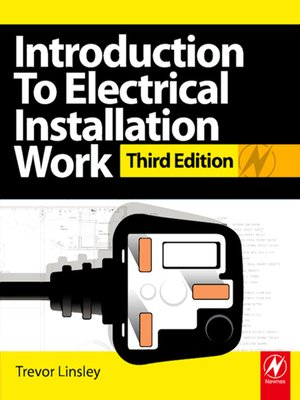 cover image of Introduction to Electrical Installation Work