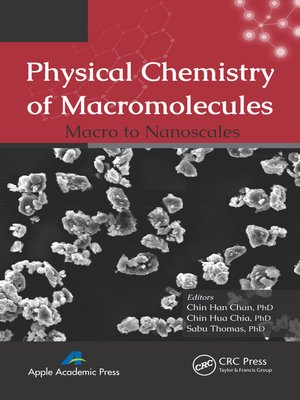cover image of Physical Chemistry of Macromolecules