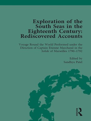 cover image of Exploration of the South Seas in the Eighteenth Century