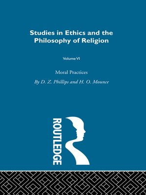 cover image of Moral Practices Vol 6