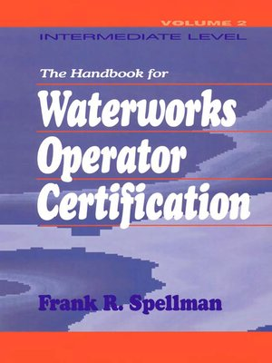 cover image of Handbook for Waterworks Operator Certification