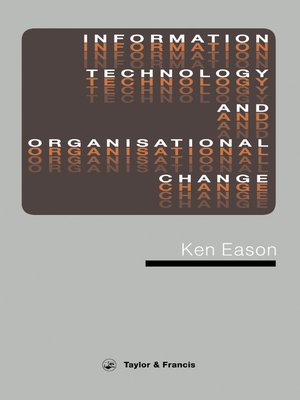 cover image of Information Technology and Organisational Change
