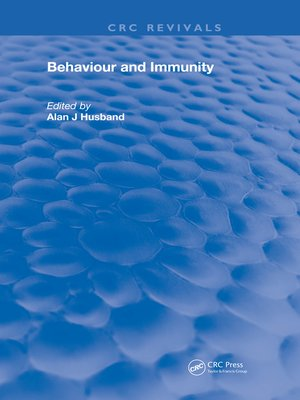 cover image of Behavior and Immunity