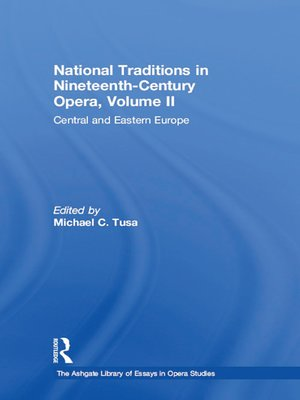 cover image of National Traditions in Nineteenth-Century Opera, Volume II
