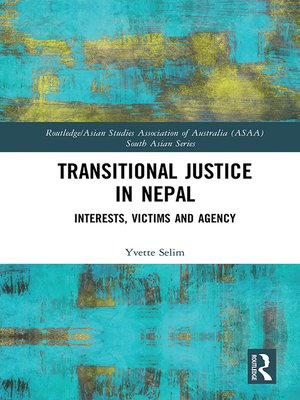 cover image of Transitional Justice in Nepal