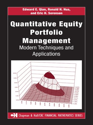 cover image of Quantitative Equity Portfolio Management