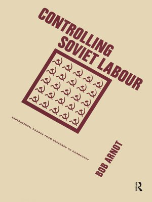 cover image of Controlling Soviet Labour
