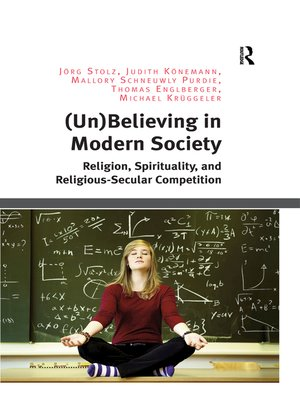 cover image of (Un)Believing in Modern Society