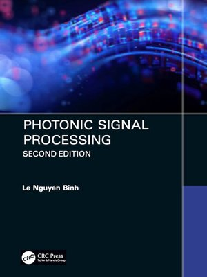 cover image of Photonic Signal Processing