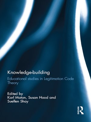 cover image of Knowledge-building