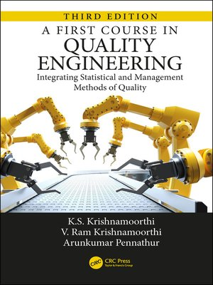 cover image of A First Course in Quality Engineering