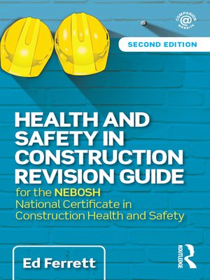cover image of Health and Safety in Construction Revision Guide