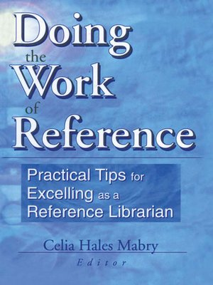 cover image of Doing the Work of Reference