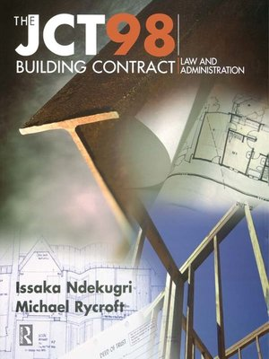 cover image of JCT98 Building Contract