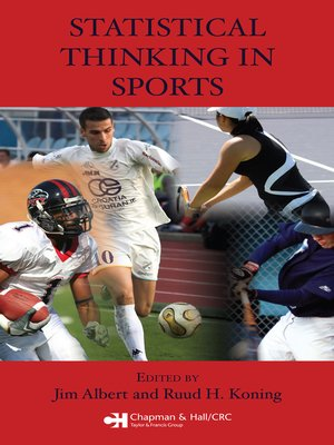 cover image of Statistical Thinking in Sports