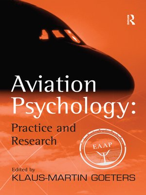 cover image of Aviation Psychology