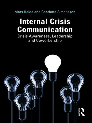 cover image of Internal Crisis Communication