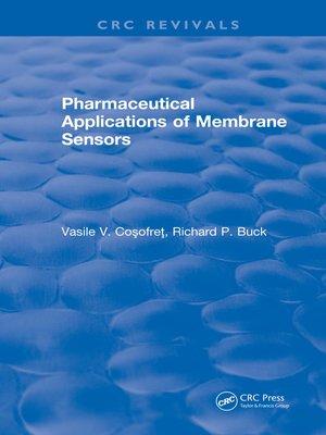 cover image of Pharmaceutical Applications of Membrane Sensors