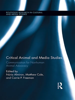 cover image of Critical Animal and Media Studies