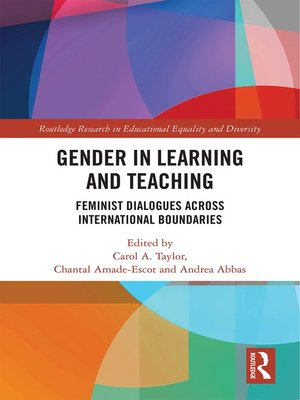 cover image of Gender in Learning and Teaching