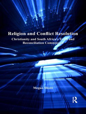 cover image of Religion and Conflict Resolution
