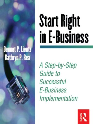 cover image of Start Right in E-Business