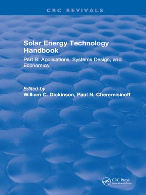 cover image of Solar Energy Technology Handbook