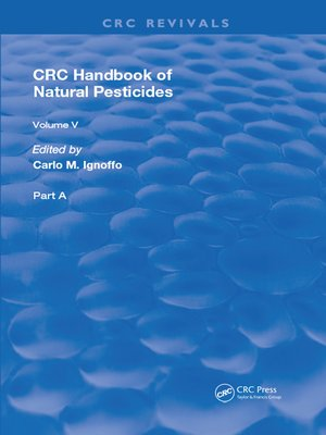 cover image of Handbook of Natural Pesticides