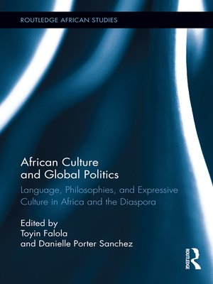 cover image of African Culture and Global Politics