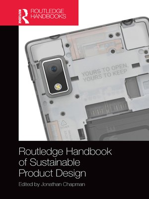 cover image of Routledge Handbook of Sustainable Product Design