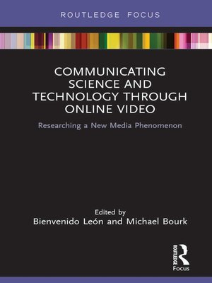 cover image of Communicating Science and Technology Through Online Video