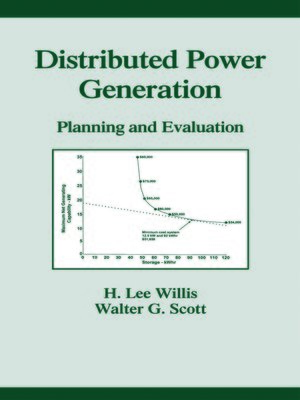 cover image of Distributed Power Generation
