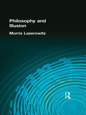 cover image of Philosophy and Illusion