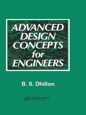cover image of Advanced Design Concepts for Engineers