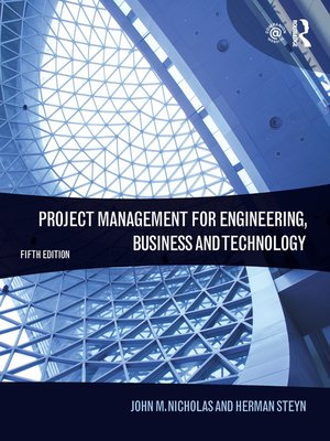cover image of Project Management for Engineering, Business and Technology
