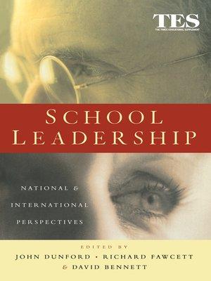 cover image of School Leadership