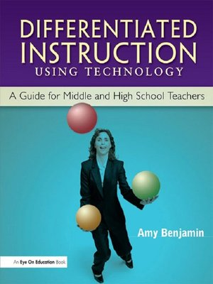 cover image of Differentiated Instruction Using Technology