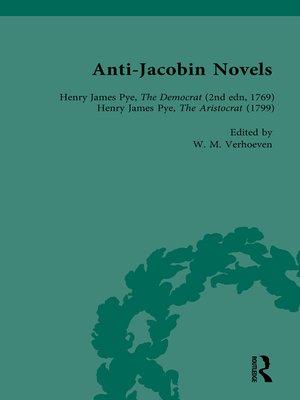 cover image of Anti-Jacobin Novels, Part I, Volume 1